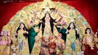 Photo of নদীয়ার রানাঘাটের ভাঙড়া পাড়ার পুজো এবছর ৫৭ তম বর্ষে পদার্পন করল