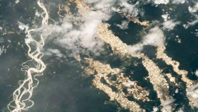 Photo of অবিশ্বাস্য! নদীর জলে ভেসে বেড়াচ্ছে তরল সোনার স্রোত, ছবি তুলল স্পেস স্টেশন