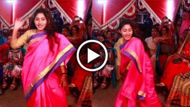 Photo of ও সাকি সাকি গানে তুমুল নাচ, বিয়ে বাড়িতে তোলপাড় সুন্দরী বউদি, ঝড়ের গতিতে ভাইরাল ভিডিও