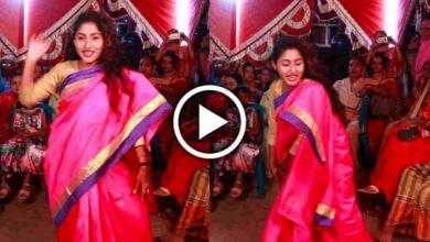 Photo of ও সাকি, বিয়ে বাড়িতে 'Super Hit' হিন্দি গানে তুমুল নাচ সুন্দরী বউদির, ভাইরাল ভিডিও