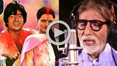 Photo of Amitabh Bachchan: দুর্দান্ত অভিনয়ের পাশাপাশি অসাধারন গানেও পারদর্শী অমিতাভ, রইল 'বিগ-বি'র নিজের গাওয়া সাতটি গানের ভিডিও